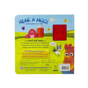Hear A Moo! Old MacDonal Had A Farm - Sing With Me Book, [Product Type] - Daves Deals