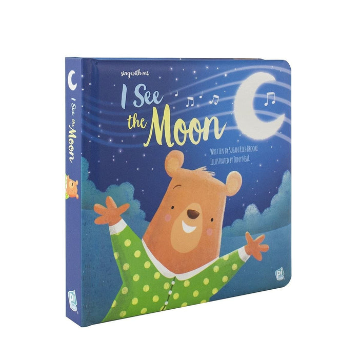 I See The Moon - Sing With Me Book