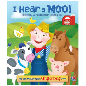 I Hear A Moo! - An Old MacDonald Sing-Along Book - Daves Deals