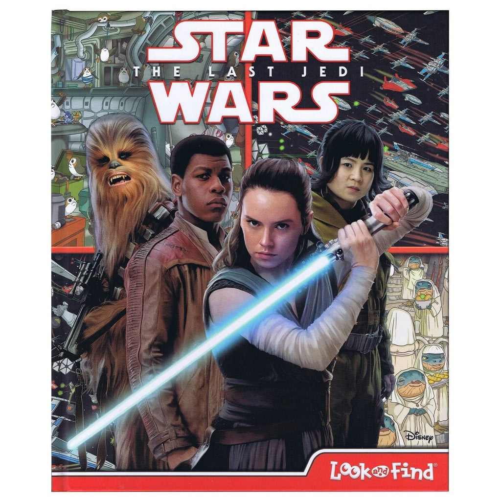 Star Wars The Last Jedi - Look and Find, [Product Type] - Daves Deals