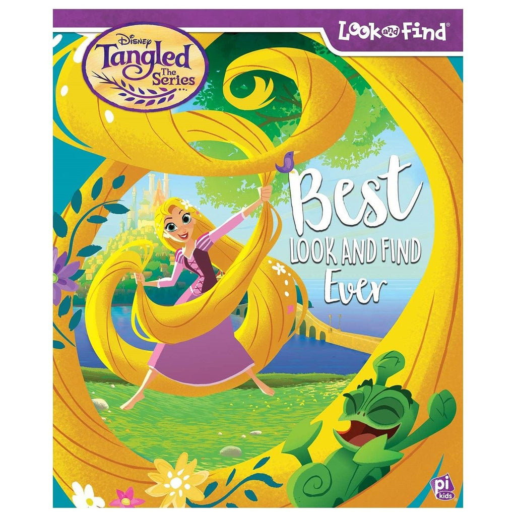 Look & Find Tangled the Series