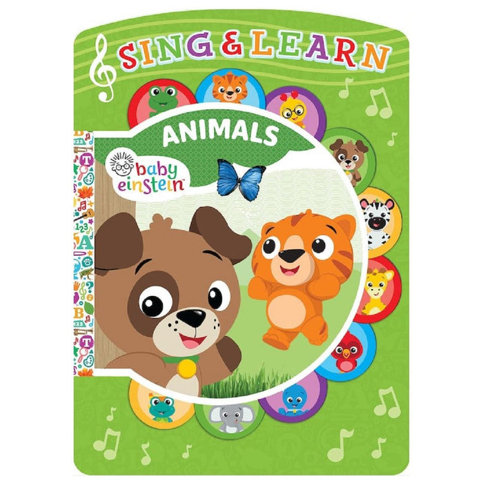 Baby Einstein Animals - Sing & Learn Book