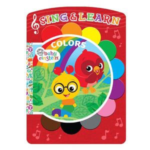 Baby Einstein Colors - Sing & Learn Book, [Product Type] - Daves Deals
