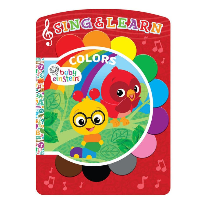 Baby Einstein Colors - Sing & Learn Book