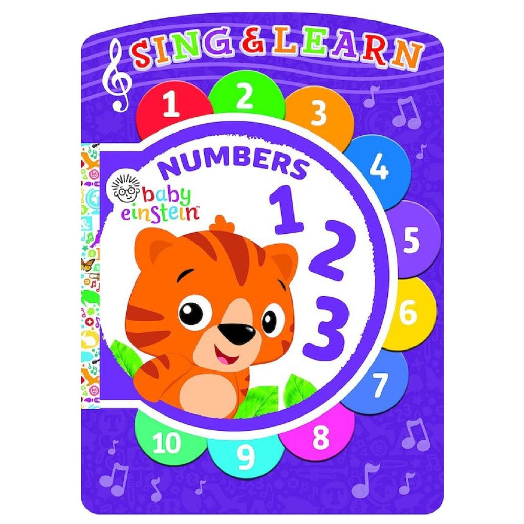Baby Einstein Numbers - Sing & Learn Book, [Product Type] - Daves Deals