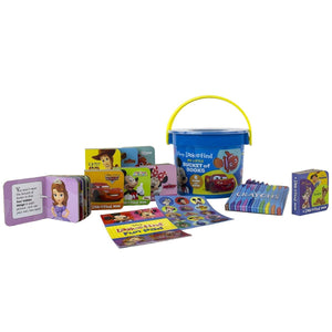Disney - Look and Find My Little Bucket Of Books, [Product Type] - Daves Deals