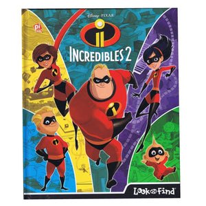 Incredibles 2 Look and Find