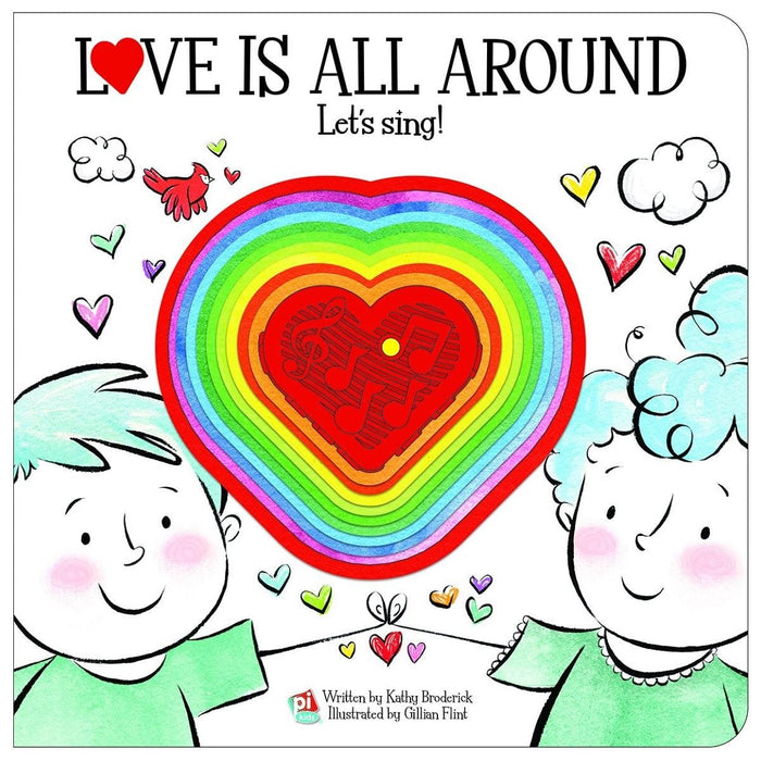 Love Is All Around - Let's Sing Book