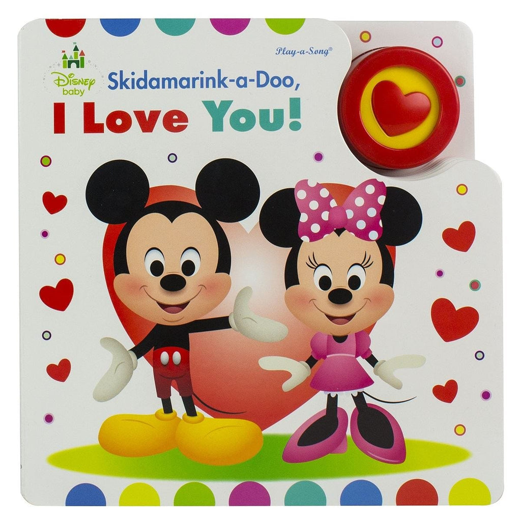 Disney Baby Skidamarink-a-Doo, I Love you! - Play-a-Song Book - Daves Deals