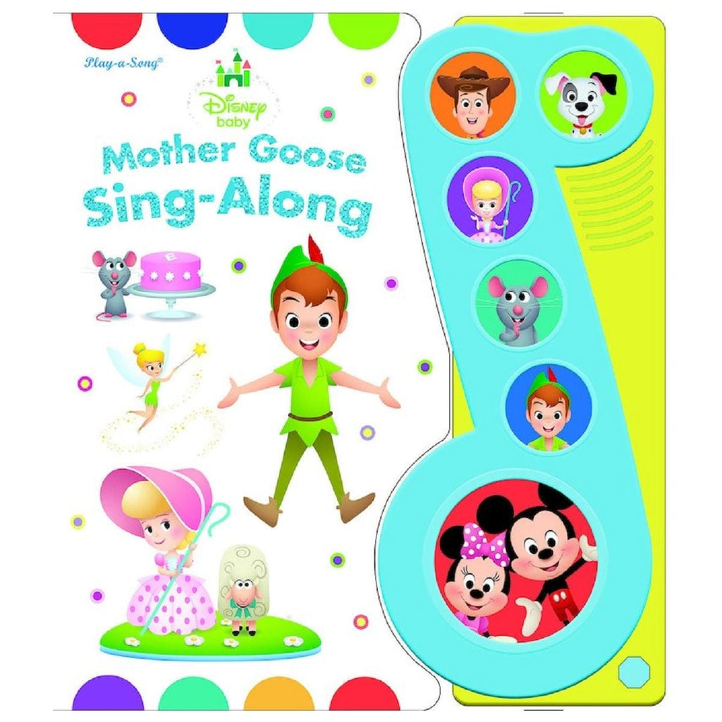 Disney Baby Mother Goose Sing-Along - Little Music Note Play-a-Song Book, [Product Type] - Daves Deals