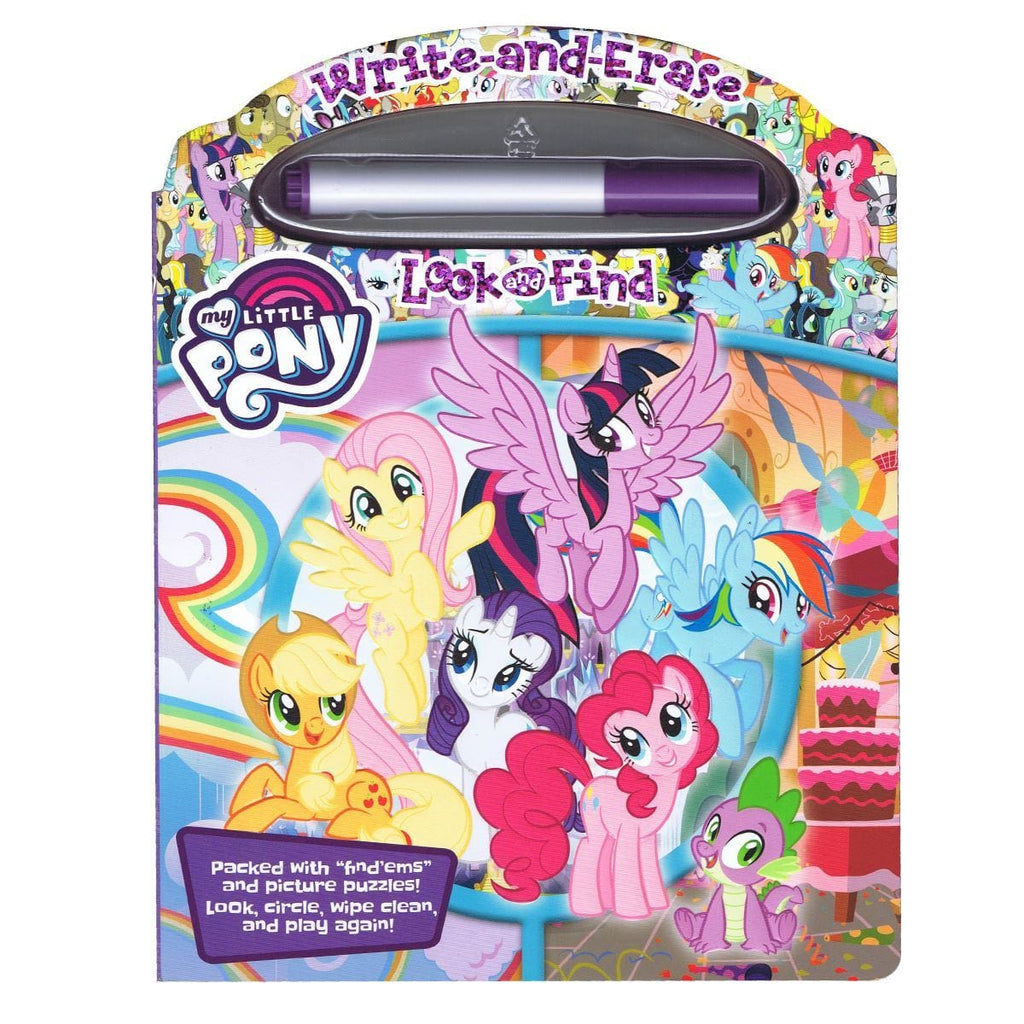 My Little Pony Write-and-Erase Look and Find