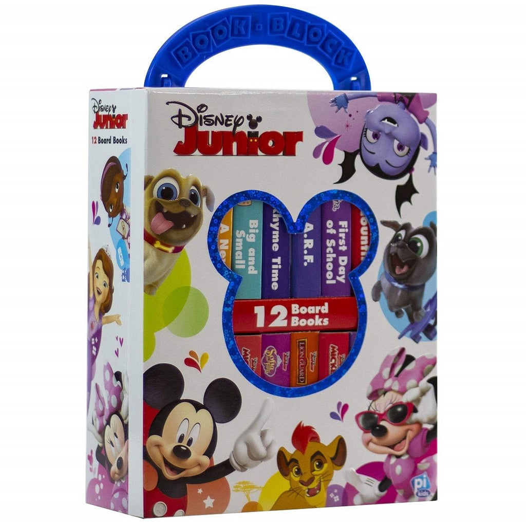 Disney Junior - My First Library 12 Board Book Block