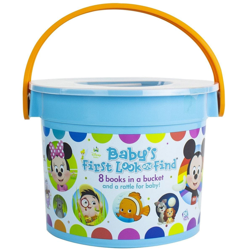 Disney Baby's First Look and Find - My Little Bucket Of Books, [Product Type] - Daves Deals