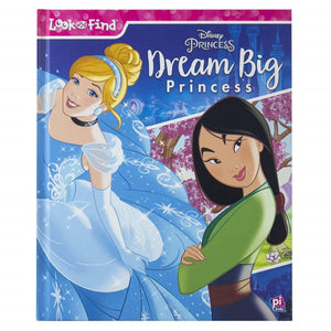 Look & Find Dream Big Princesses - Daves Deals