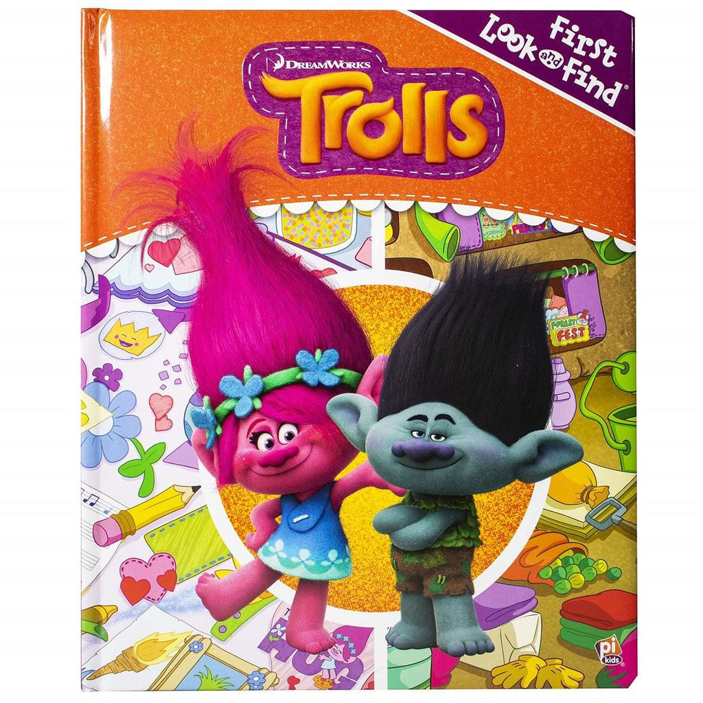 First Look & Find Dreamworks Trolls