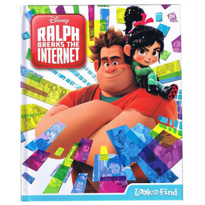 Disney Ralph Breaks The Internet Look and Find