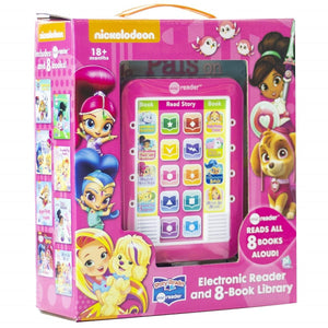 Nickelodeon Nick Jr. Girls - Me Reader Electronic Reader and 8-Book Library