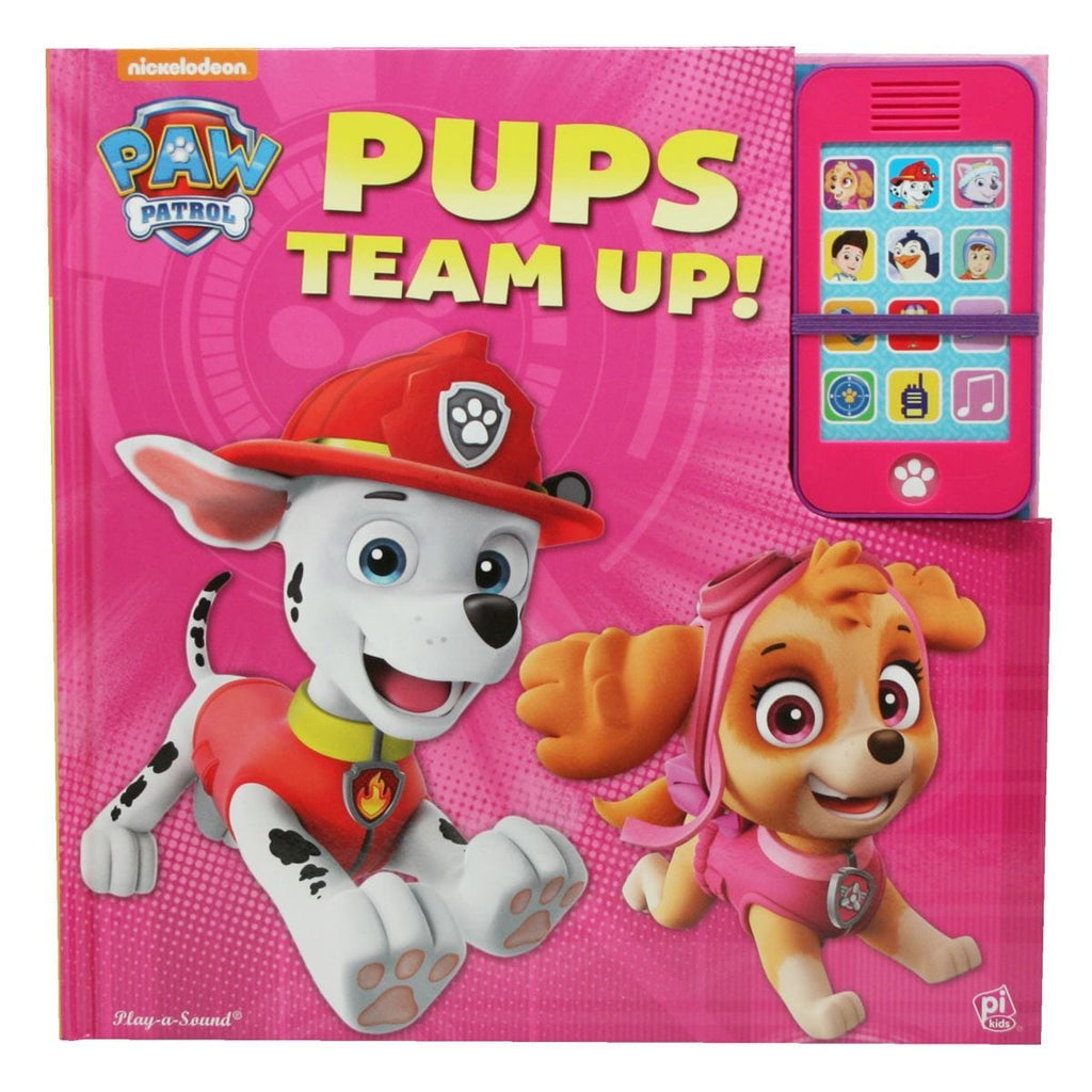 Paw Patrol Play-a-Sound with Mobile Phone - Pups Team Up!