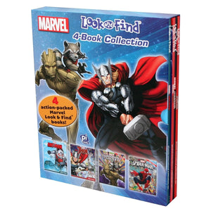 Marvel Look and Find 4-Book Collection, [Product Type] - Daves Deals