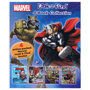 Marvel Look and Find 4-Book Collection