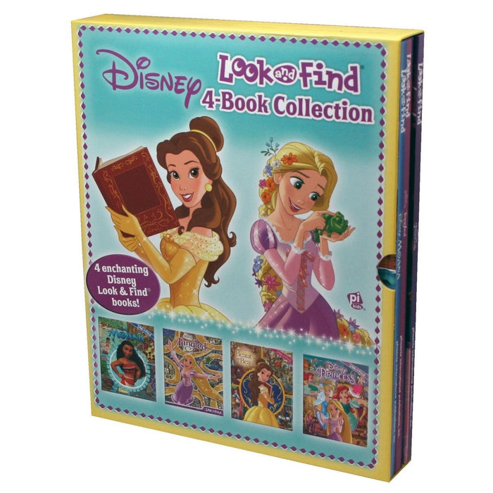 Disney Look and Find 4-Book Collection