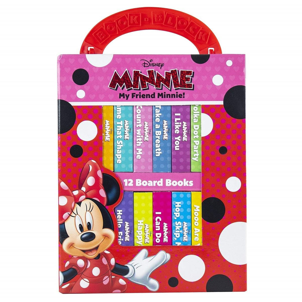 Disney Minnie - My Friend Minnie! My First Library, [Product Type] - Daves Deals