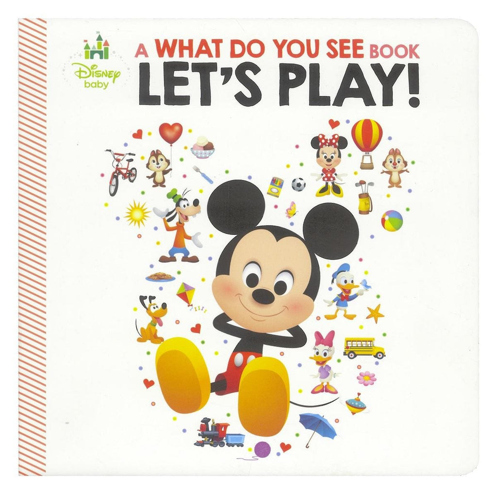 Disney Baby Mickey and Friends - What Do You See?, [Product Type] - Daves Deals