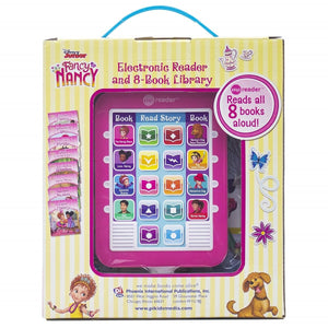 Fancy Nancy - Me Reader Electronic Reader and  8-Book Library, [Product Type] - Daves Deals