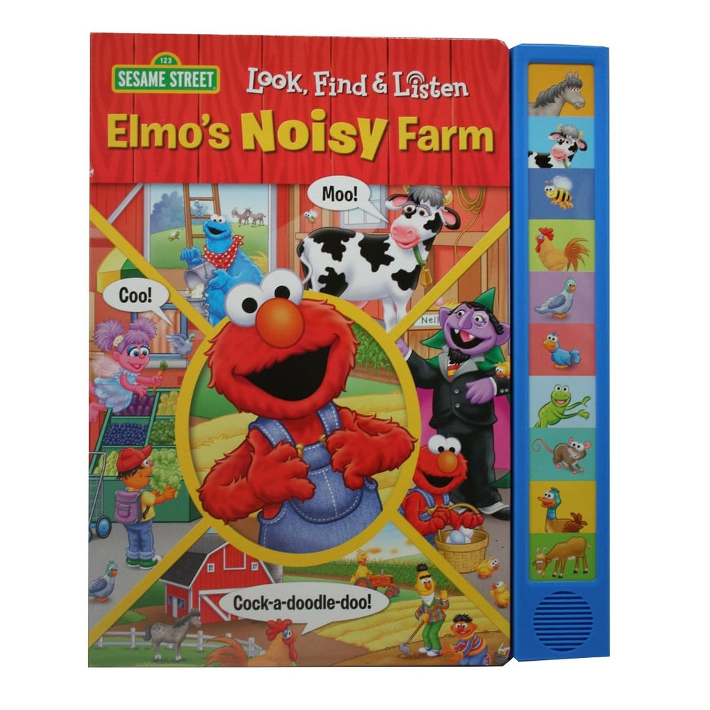 Look, Find & Listen Elmo's Noisy Farm