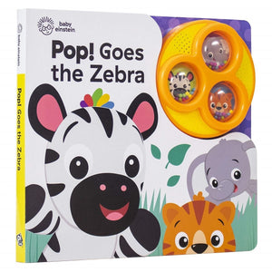 Baby Einstein - Pop! Goes the Zebra - Daves Deals
