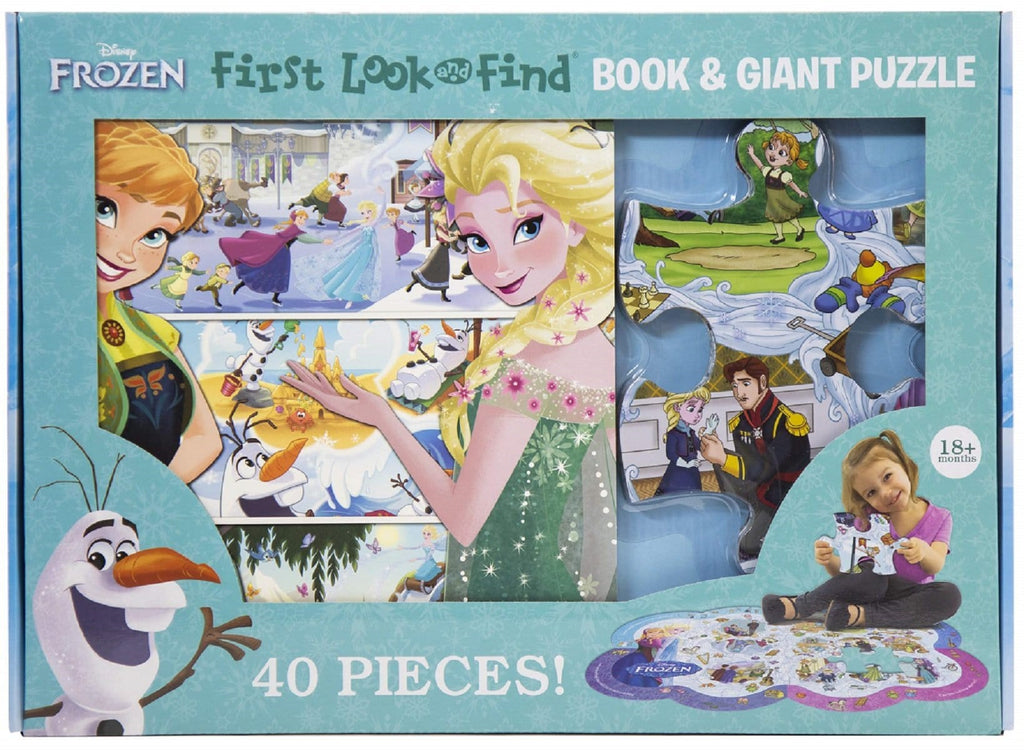 Frozen - First Look & Find Book and Giant Puzzle