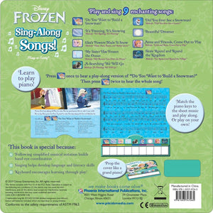 Frozen Sing Along Songs