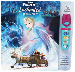 Frozen II Glow Flashlight Sound Book: Enchanted Journey
