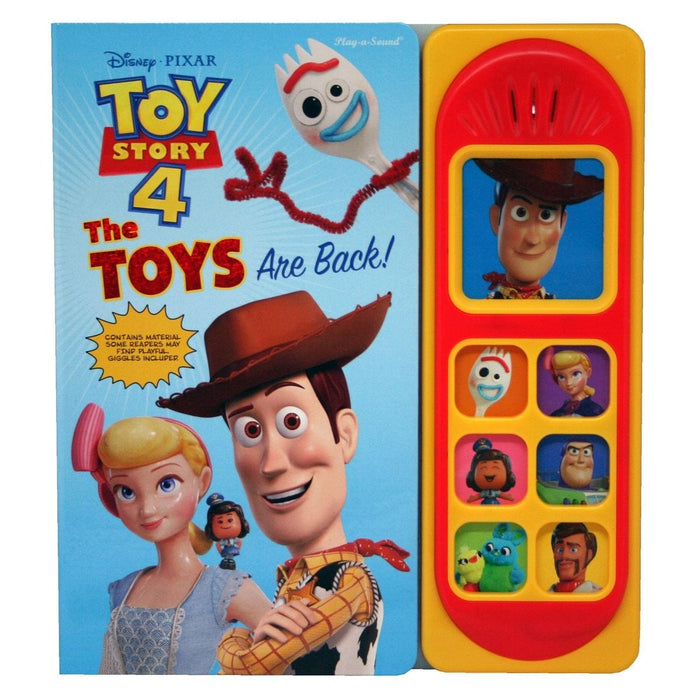 Toy Story 4 - Little Sound Book