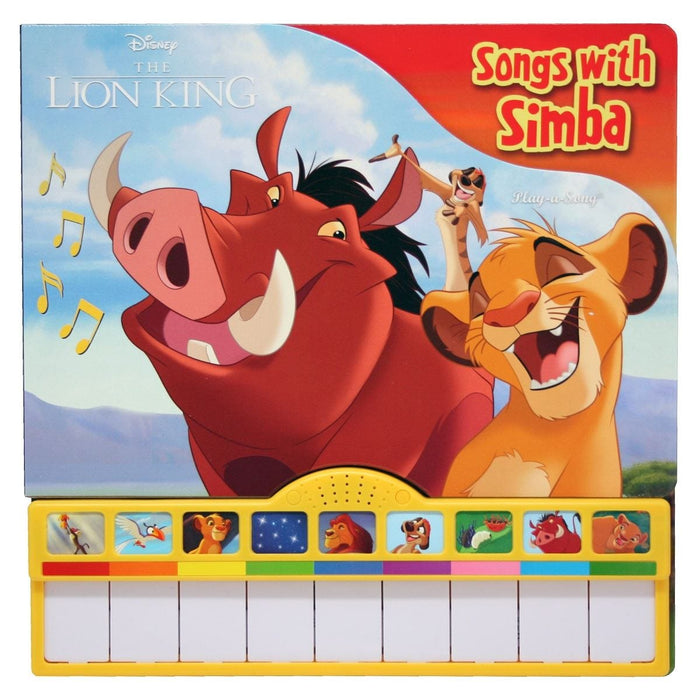 The Lion King - Piano Book Board Mini Deluxe