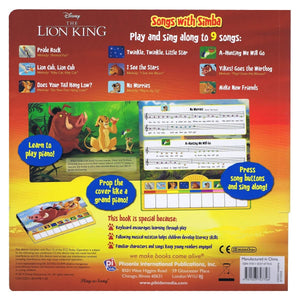 The Lion King - Piano Book Board Mini Deluxe, [Product Type] - Daves Deals