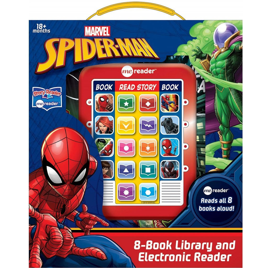 Spider-Man - Me Reader Electronic Reader and 8 Book Library