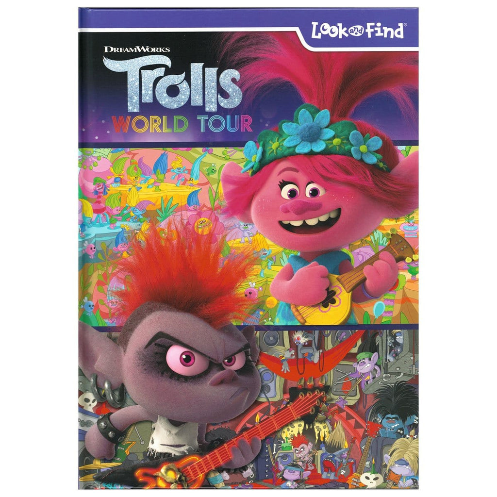Dreamworks - Trolls World Tour Look and Find