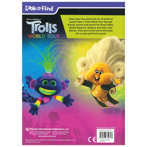 Dreamworks - Trolls World Tour Look and Find, [Product Type] - Daves Deals