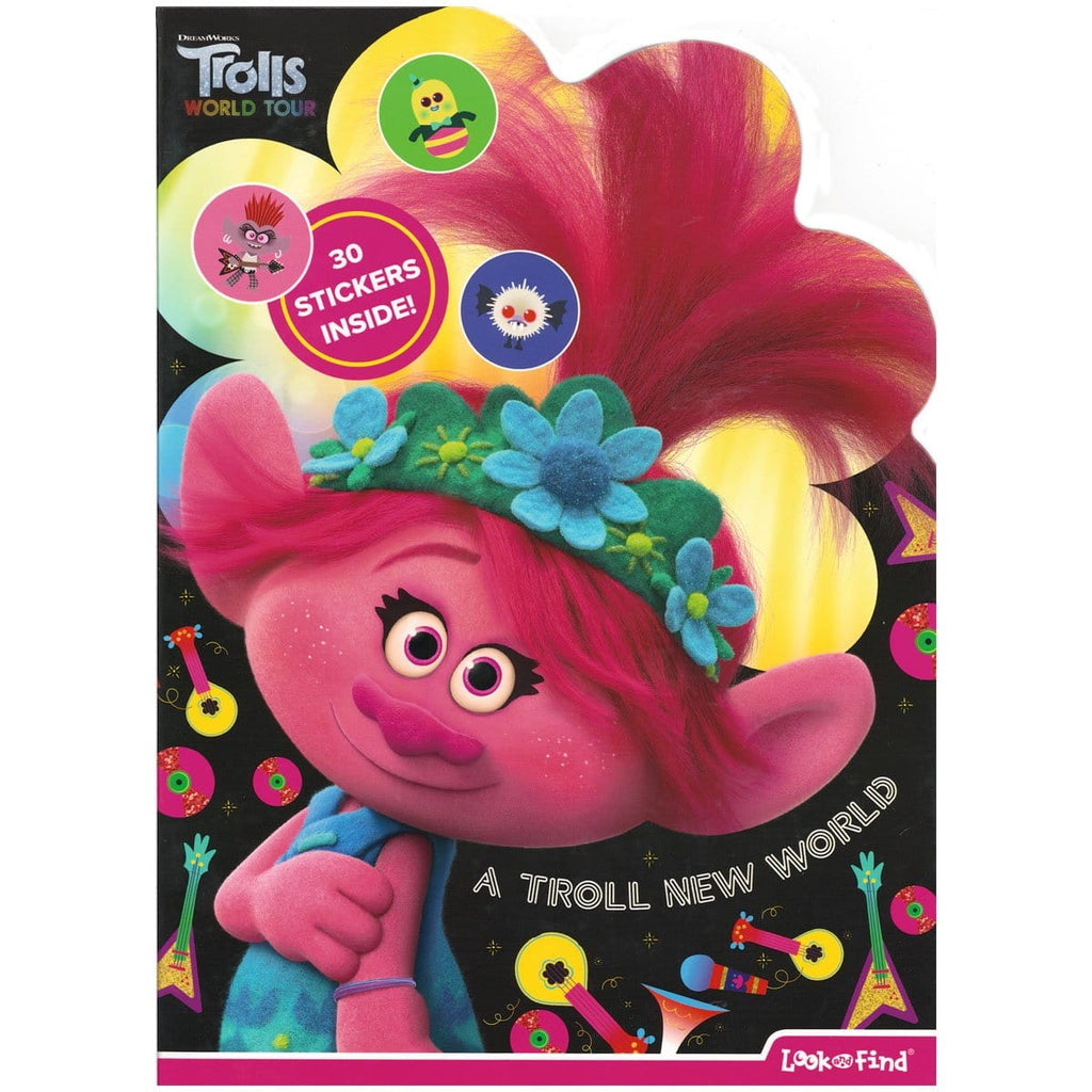 A Troll New World Look and Find Activity Book, [Product Type] - Daves Deals