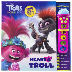 DreamWorks Trolls World Tour - Heart & Troll Microphone and Sound Book Set