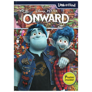 Disney Pixar Onward - Look and Find Activity Book with Bonus Poster, [Product Type] - Daves Deals
