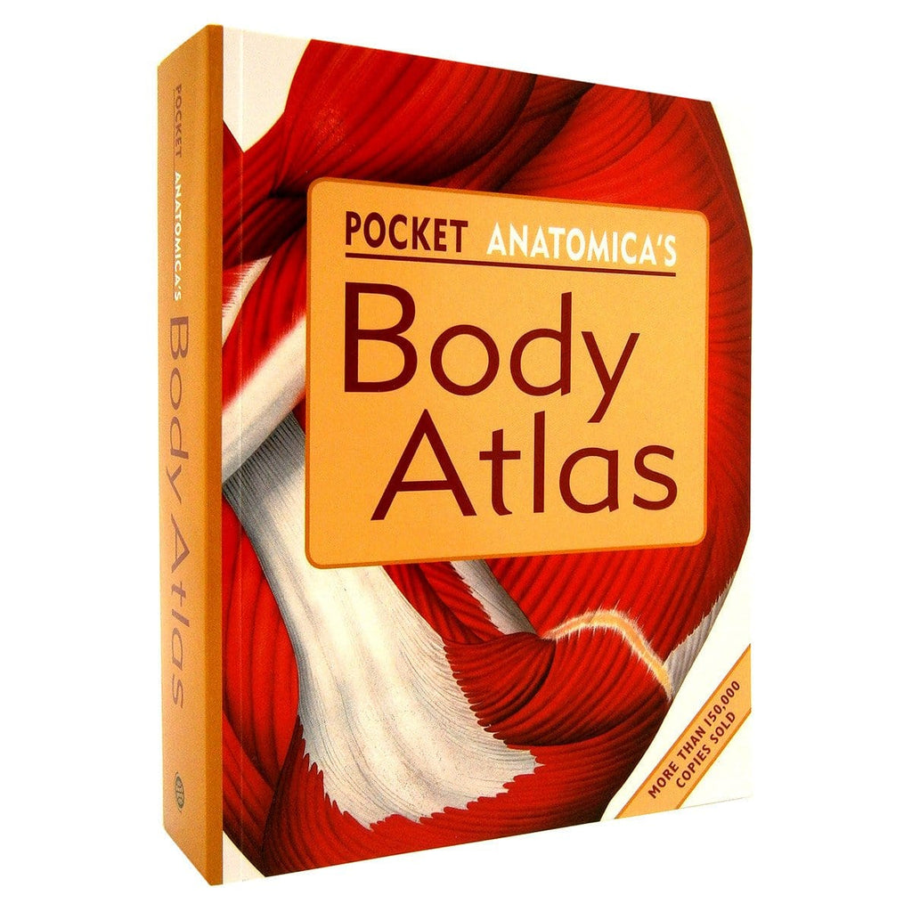 Pocket Anatonmica's Body Atlas - By Kurt H. Albertine PhD, [Product Type] - Daves Deals