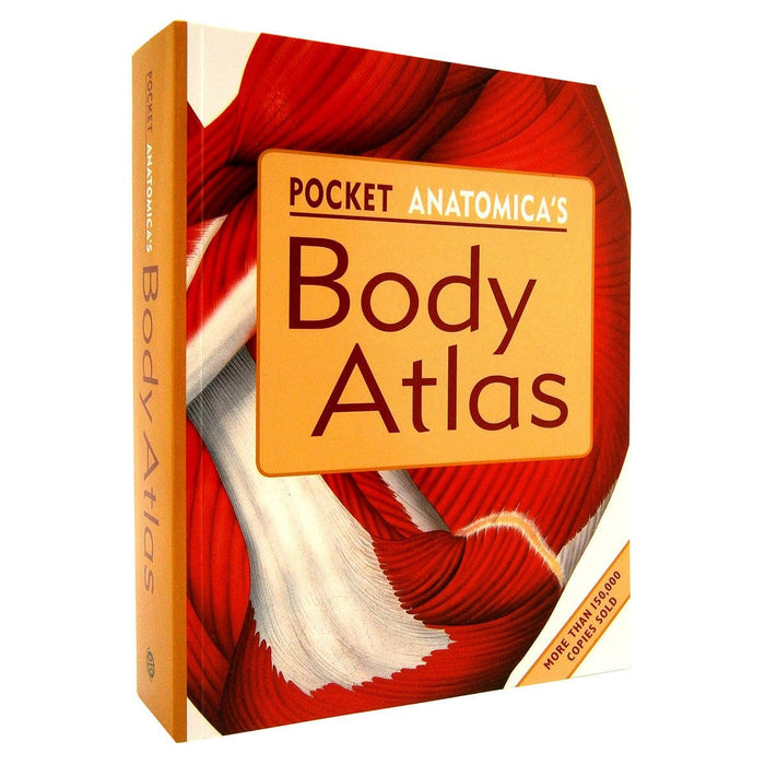 Pocket Anatonmica's Body Atlas - By Kurt H. Albertine PhD