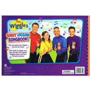 The Wiggles Giant Jigsaw Songbook, [Product Type] - Daves Deals