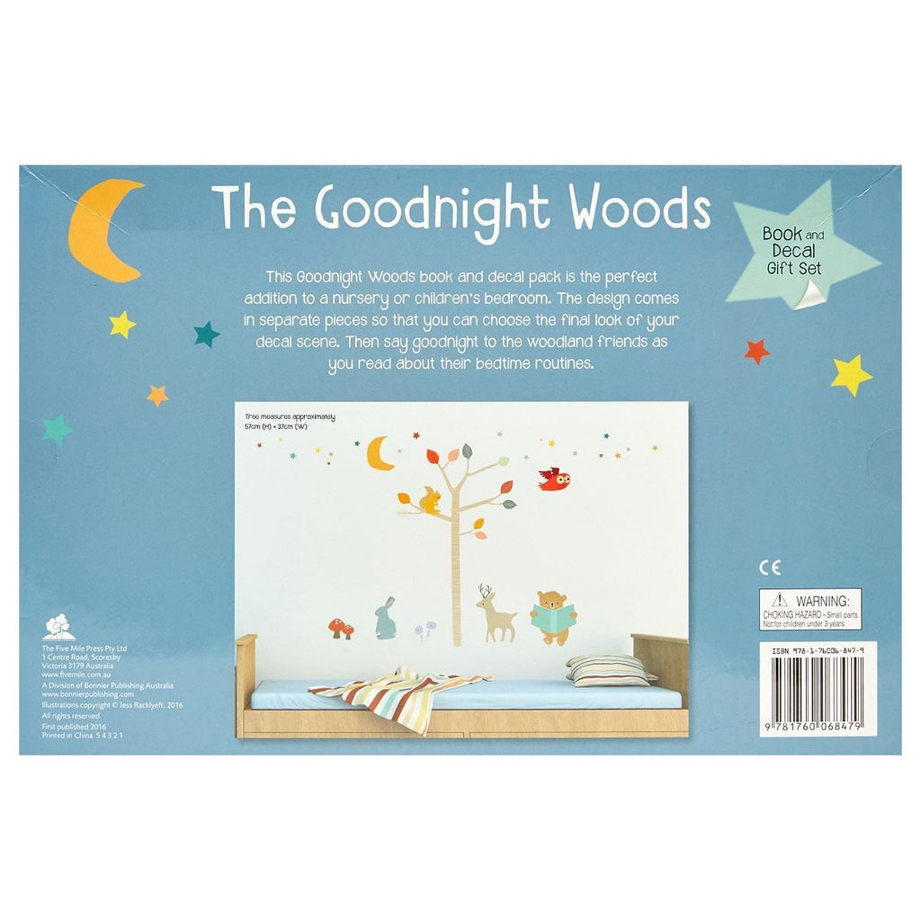 The Goodnight Woods - Book And Decal Set, [Product Type] - Daves Deals