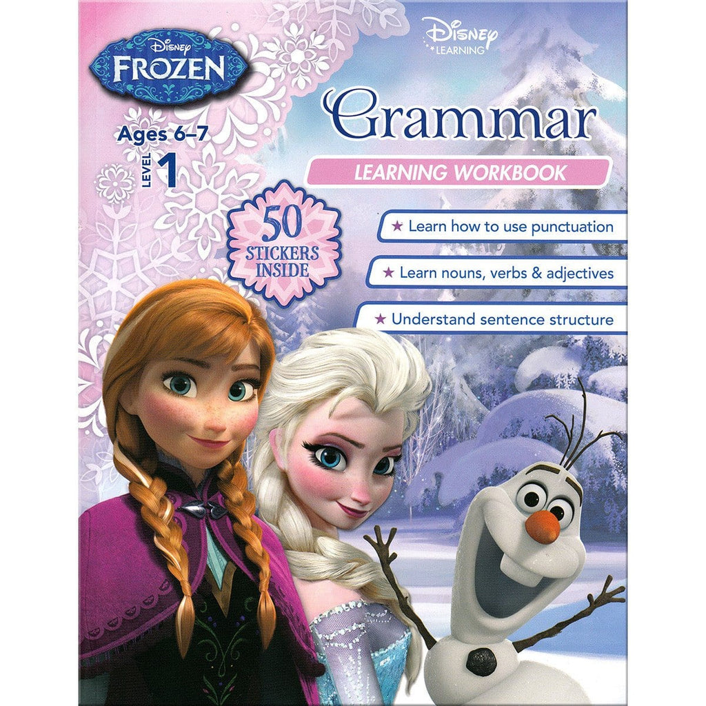 Disney Learning - Frozen Level 1: Grammar Learning Workbook, [Product Type] - Daves Deals
