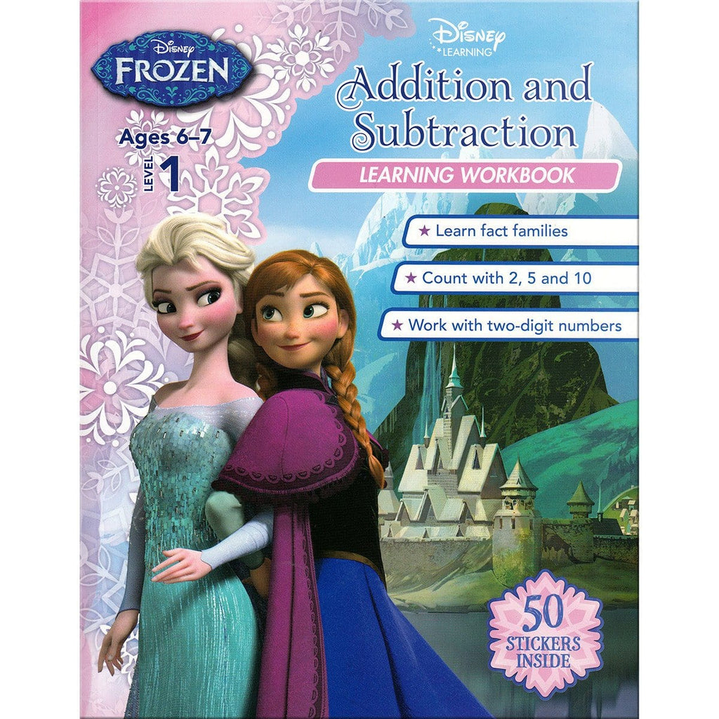 Disney Learning - Frozen Level 1: Addition and Subtraction Learning Workbook, [Product Type] - Daves Deals