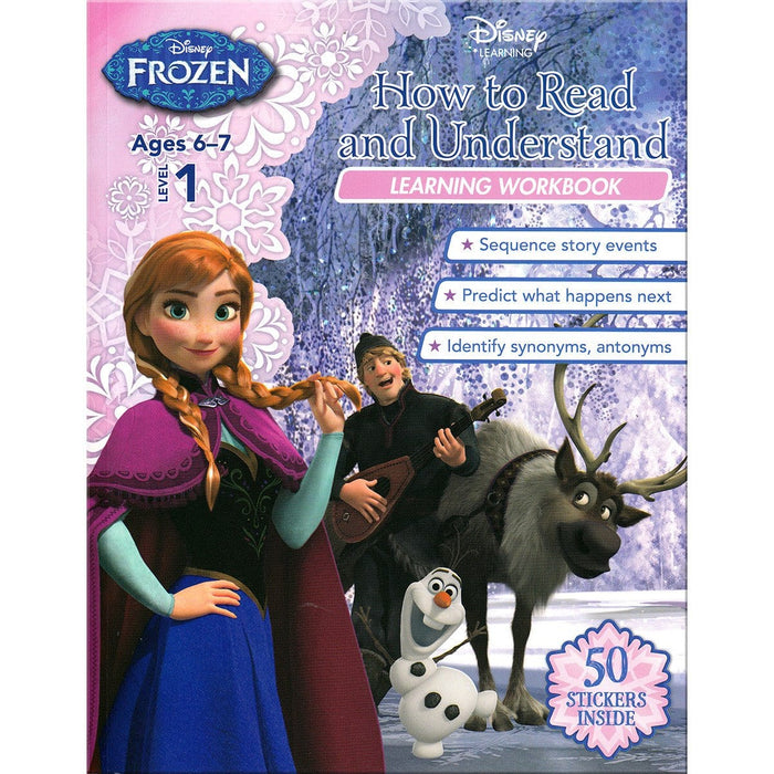 Disney Learning - Frozen Level 1: How to Read and Understand Learning Workbook