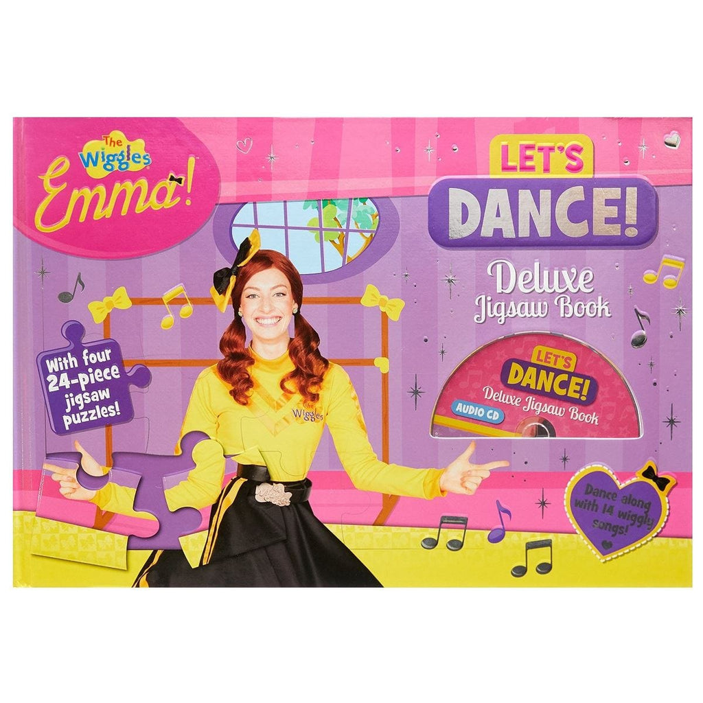 The Wiggles Emma Let's Dance Deluxe Jigsaw Book